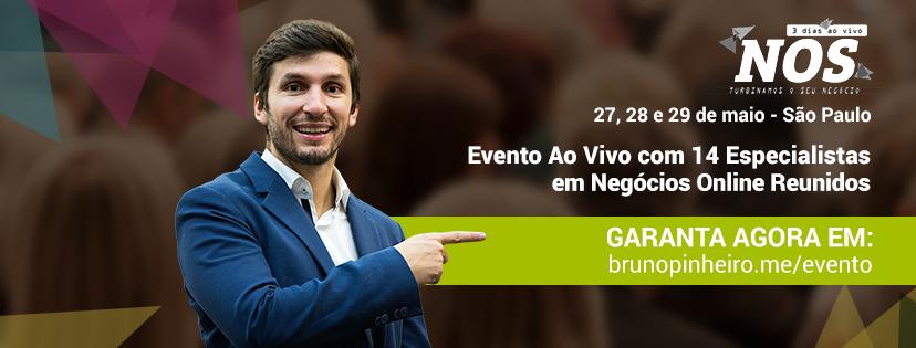 Evento Bruno Pinheiro NOS ao VIVO