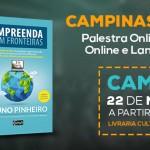 Livro Empreenda Sem Fronteiras Hoje em Campinas