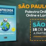 Lançamento do Meu Livro Hoje em São Paulo